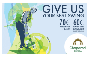 May Offers 2018 Chaparral Golf Club