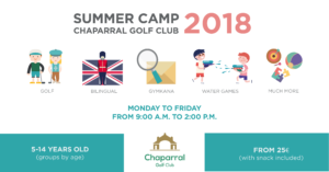 summer camp chaparral golf