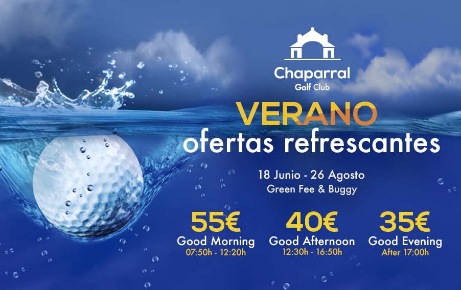 Chaparral Golf Club, Summer offers, Mijas Costa, Costa del Sol