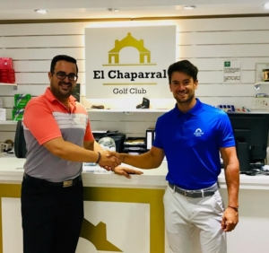 MANUEL MORUGAN, NEW SPONSORSHIP CHAPARRAL GOLF CLUB, COSTA DEL SOL