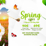 Spring Offer – We´ll see you back in the Club soon again!