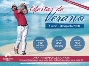 OFERTAS DE VERANO CHAPARRAL GOLF CLUB