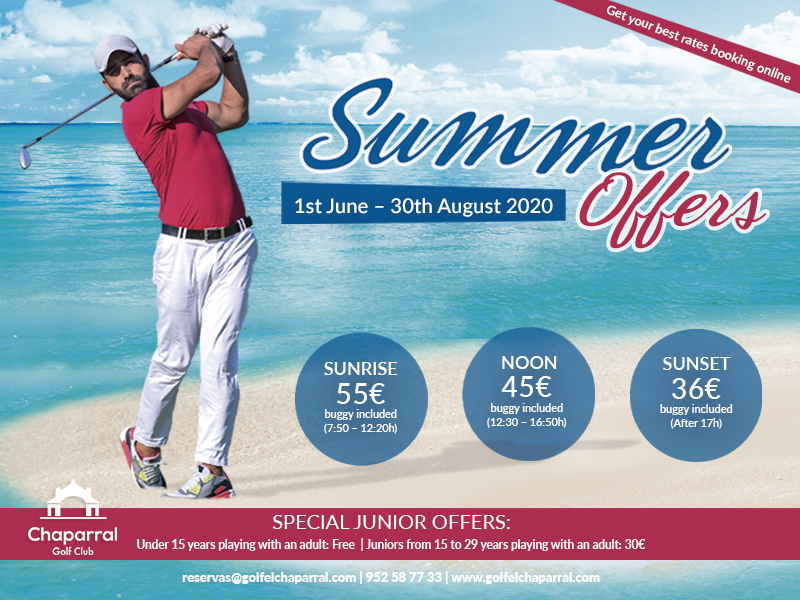 SUMMER OFFERS CHAPARRAL GOLF CLUB