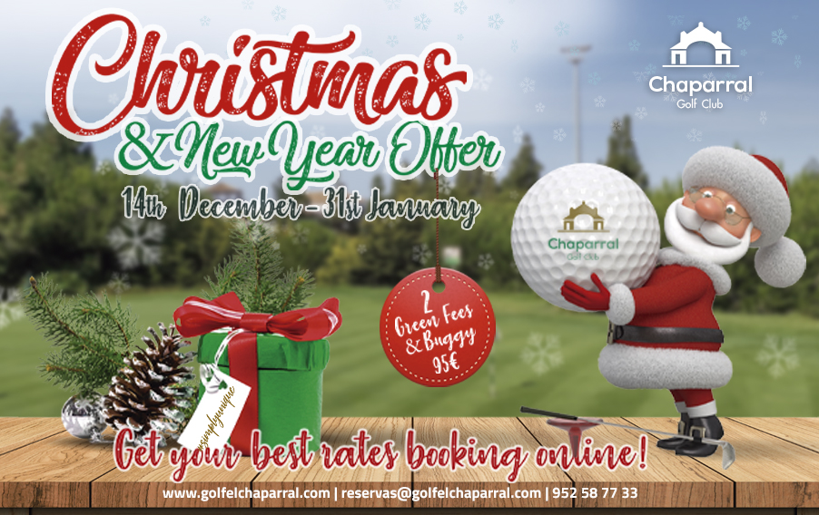 CHRISTMAS OFFER CHAPARRAL