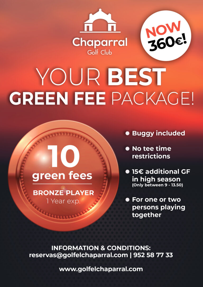 Green Fee package costa del sol