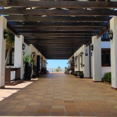 Chaparral Golf Club Mijas Costra del Sol entrada a Casa Club y proShop